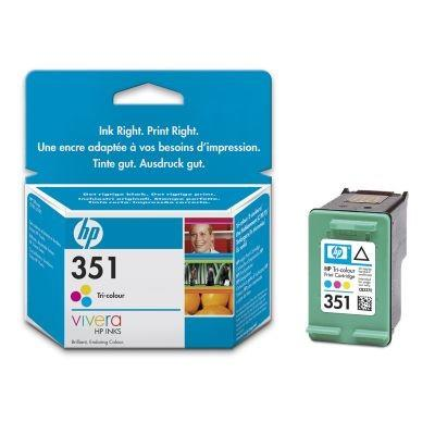 INK CARTRIDGE COLOR NO.351/4ML CB337EE HP