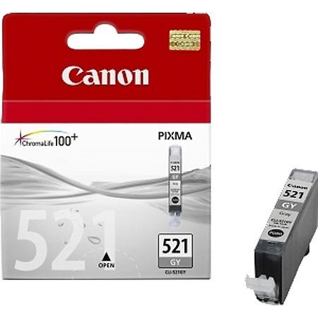 INK CARTRIDGE GREY CLI-521GY/2937B001 CANON