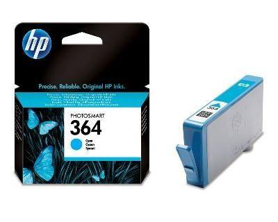 INK CARTRIDGE CYAN NO.364/3ML CB318EE HP