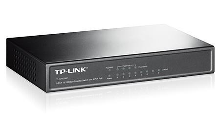 NET SWITCH 8PORT 10/100M POE/TL-SF1008P TP-LINK