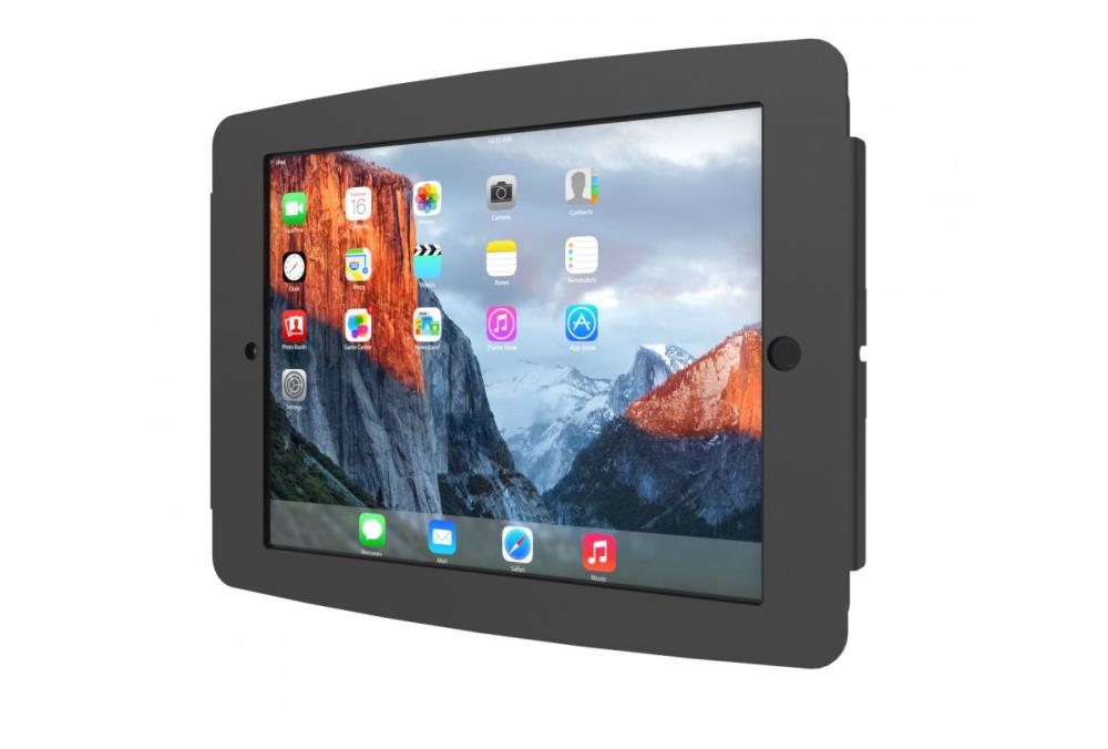TABLET ACC WALL MOUNT SPACE/10.5 BLACK 275SENB COMPULOCKS