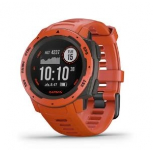 SMARTWATCH INSTINCT/FLAME RED 010-02064-02 GARMIN