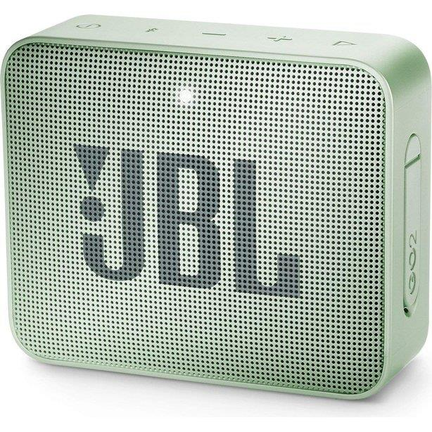Portable Speaker|JBL|GO 2|Portable/Waterproof/Wireless|1xMicro-USB|1xStereo jack 3.5mm|Bluetooth|Mint|JBLGO2MINT