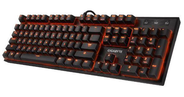 KEYBOARD USB ENG/GK-FORCE K85 BLUE GIGABYTE