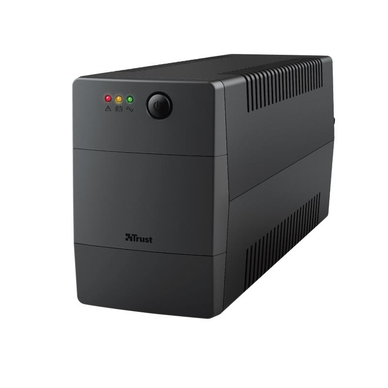 UPS|TRUST|480 Watts|800 VA|Wave form type Simulated sinewave|Desktop/pedestal|23503