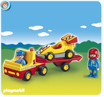 Playmobil 6761 Tow Truck with Race Car