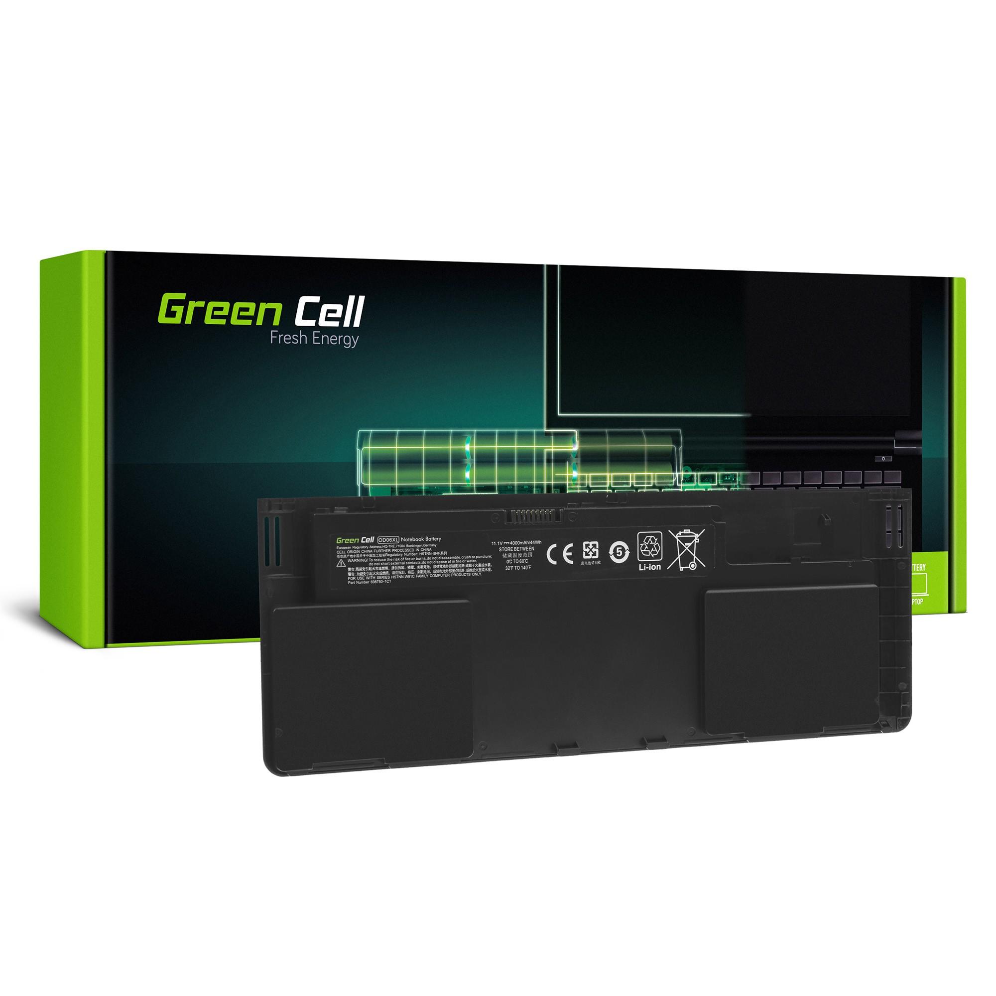 def596b886b Bateria Green Cell OD06XL HSTNN-IB4F do HP EliteBook Revolve 810 G1 G2 G3