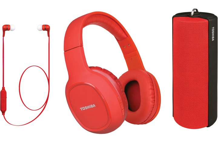 Toshiba Triple Pack HSP-3P19 red